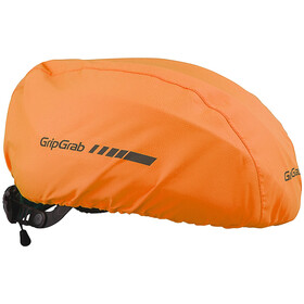 GripGrab Waterproof Helmet Cover, orange hi-vis
